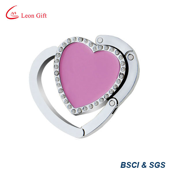 Sweet Heart Metal Handbag Hook / Handbag Hanger
