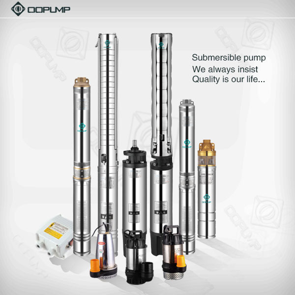 Mechanical Seal Stainless Steel Submersible Pump