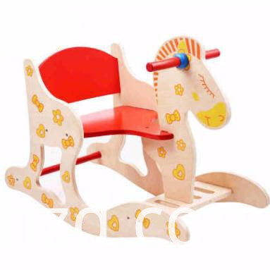 Increase Trojan Rocking Chair Wood Toy