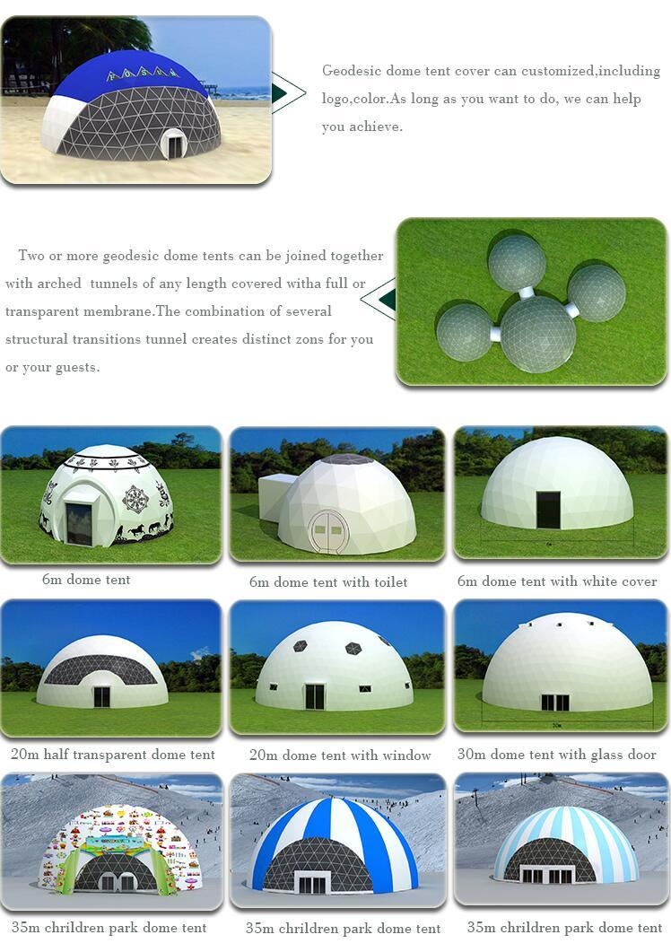 High Quality Soundproof Dome Tent for Concert