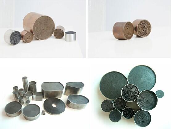 Metal Monolith for Diesel Engine Powered Gensets
