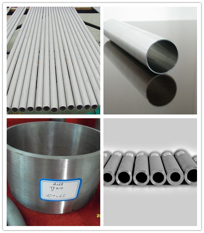 China Supplier ASTM A312 Stainless Steel Seamless Pipe (304 304L 316L)