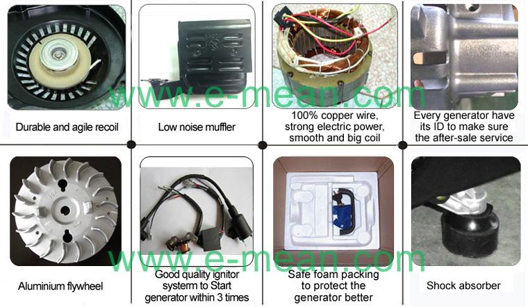 Mini Hand Power Portable Electric Gaosiline Generator