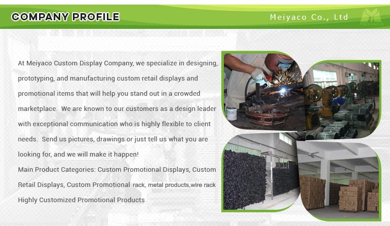 4-Layer Metallic Wire Tissue Paper Shelf Store Supplies Display Racks