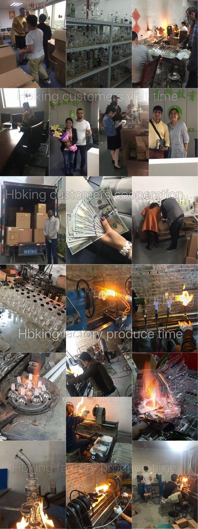 Hot Sale Recyler Hookah Glass Water Pipe Glass Pipe