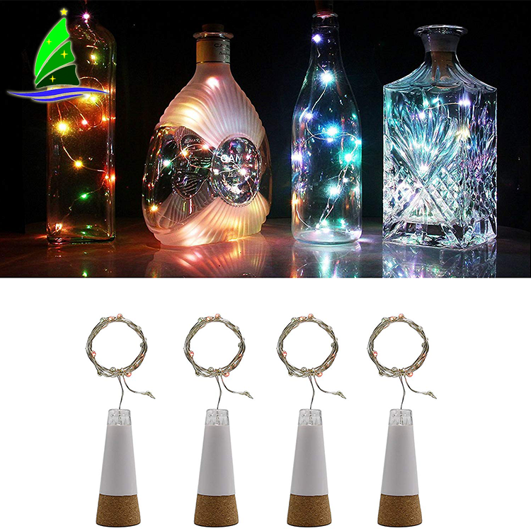 battery operated glass string decorative light
