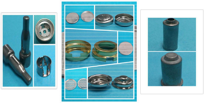 Kinds of Motor Metal Stamping Parts