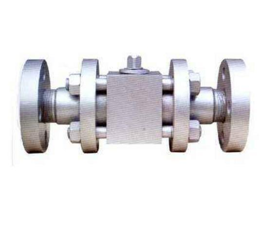 High Pressure Forged Steel Three Section Flanged Ball Valve