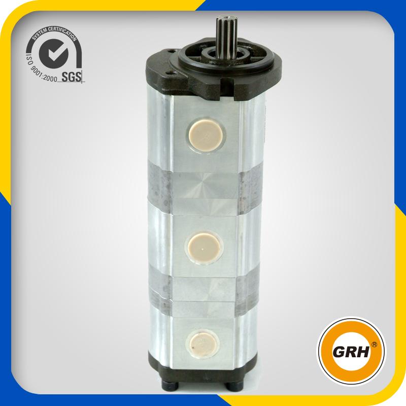 Triple Hydraulic Pump for Hydraulic Part with Three Gear Pump