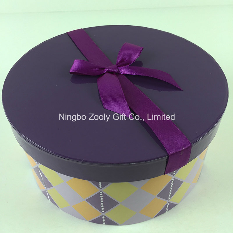 Custom Printed Octagonal Square Round Mixed Paper Gift Boxes Set