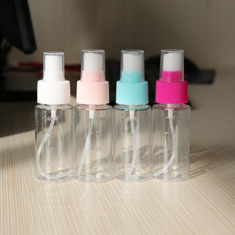 Travel Empty Pressed Bottle Shampoo Cream Lotion Cosmetics Bottles Perfume Spray Container Refillable Bottles Portable