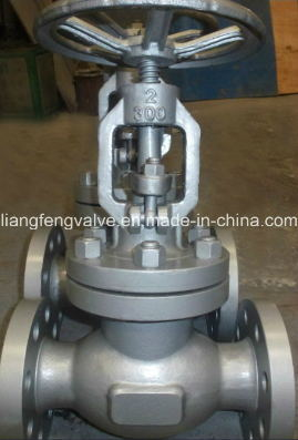 300lb Rising Stem Globe Valve API Flange End with Stainless Steel RF
