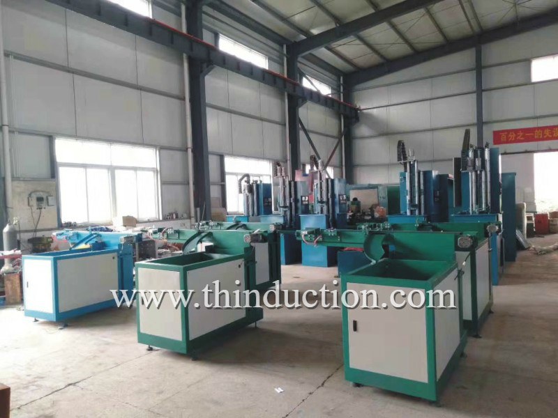 Shaft Roller Metal Forging Induction Heating Machine