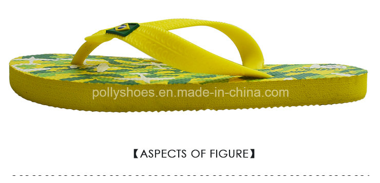 Name Brand New Fashion Brazil Nature Rubber Flip Flop Wholesale