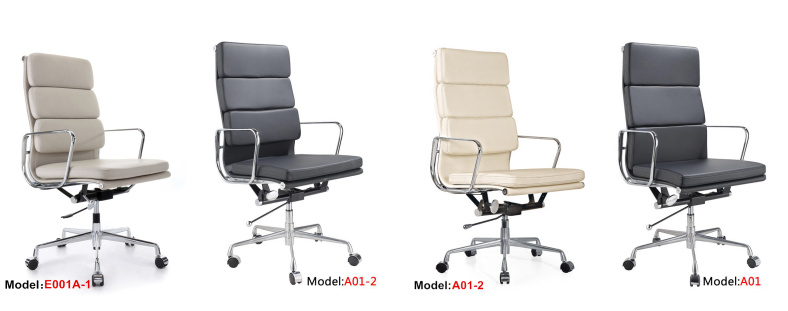 Eames Original Version Office Ergonomic Leather Executive Chair (PE-E01A)