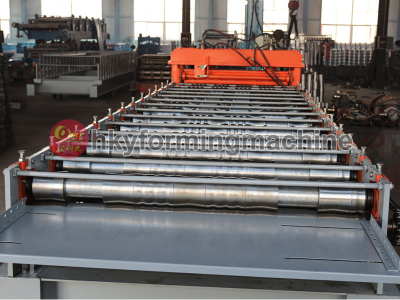 Roll Forming Machine for Steel Plate as Floor Support