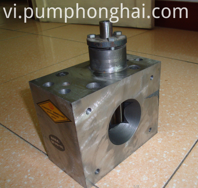 HHRJ small volume hot melt glue gear pumps