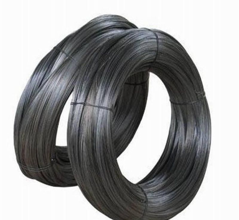Black Iron Wire in Soft Quality