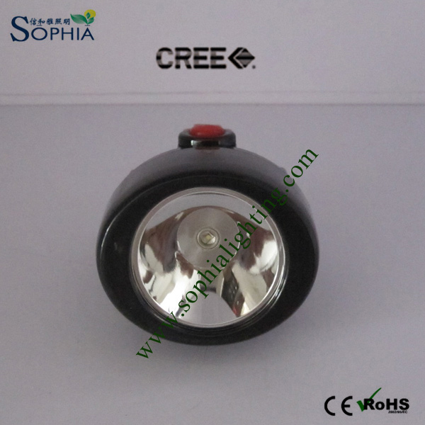 2800mAh Waterproof CREE LED Cordless Mining Cap Lamp