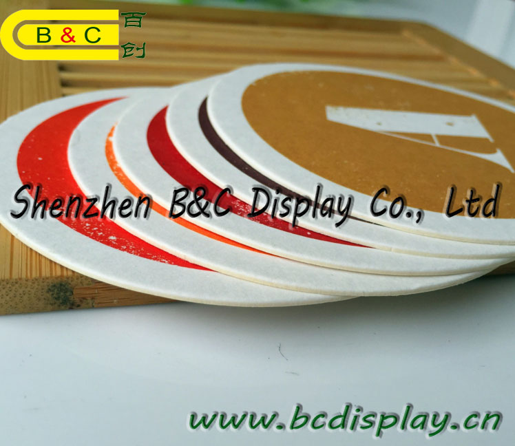Round Shaper Coffee Coaster, Tea Plac Mat, Beer Mat and Hotel Coasters with SGS (B&C-G109)