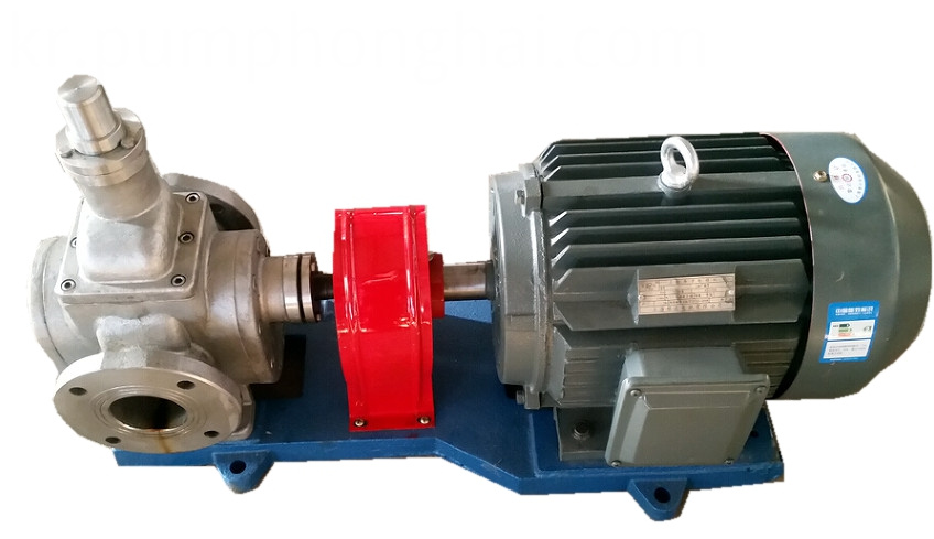 YCB stainless steel food grade oil transfer pump