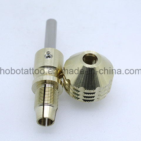 Newest Premium Non- Disposable Tattoo Brass Self-Lock Gips Tubes Cartridge Grips
