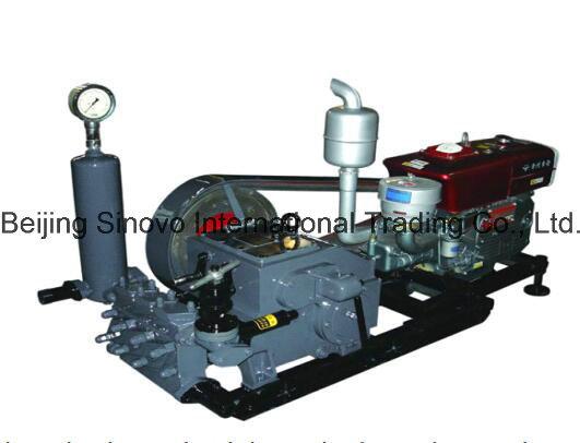 Model BW160/10 piston pump triplex cylinders mud pump