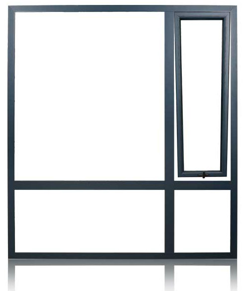 Aluminium Smart Windows with Double Glazed (FT-W70)