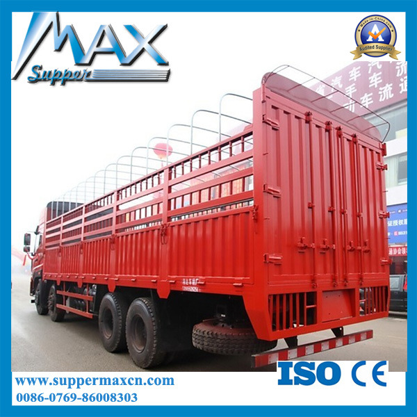 High Quality Sinotruk W5g Cargo Crane Truck 340HP 8X4 Truck for Sale