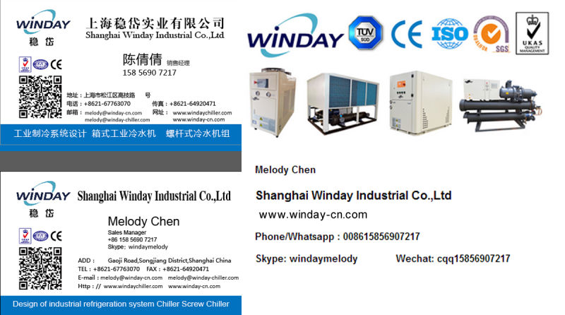 High Efficiency Water Cooled Scroll Chiller for Plastic Processing