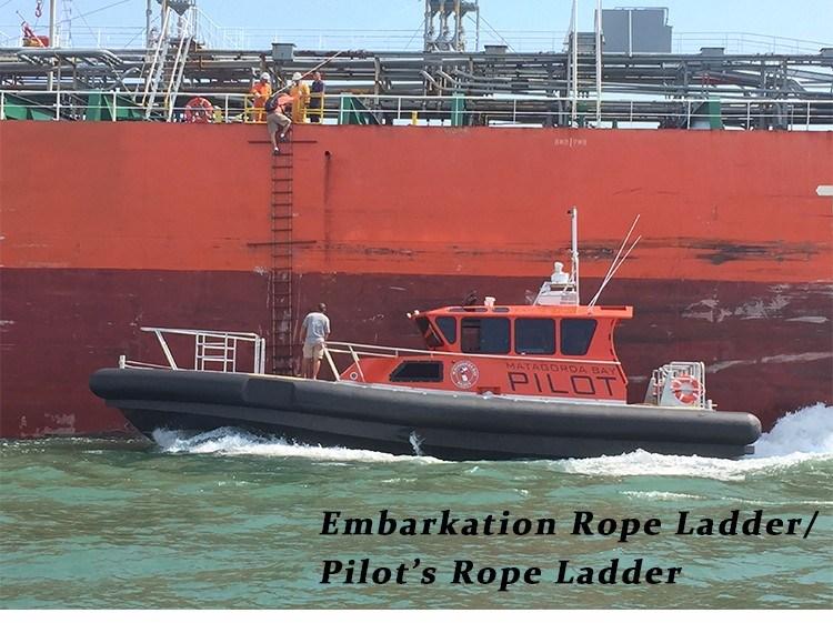 Pilot Rope Embarkation Ladder for Sale