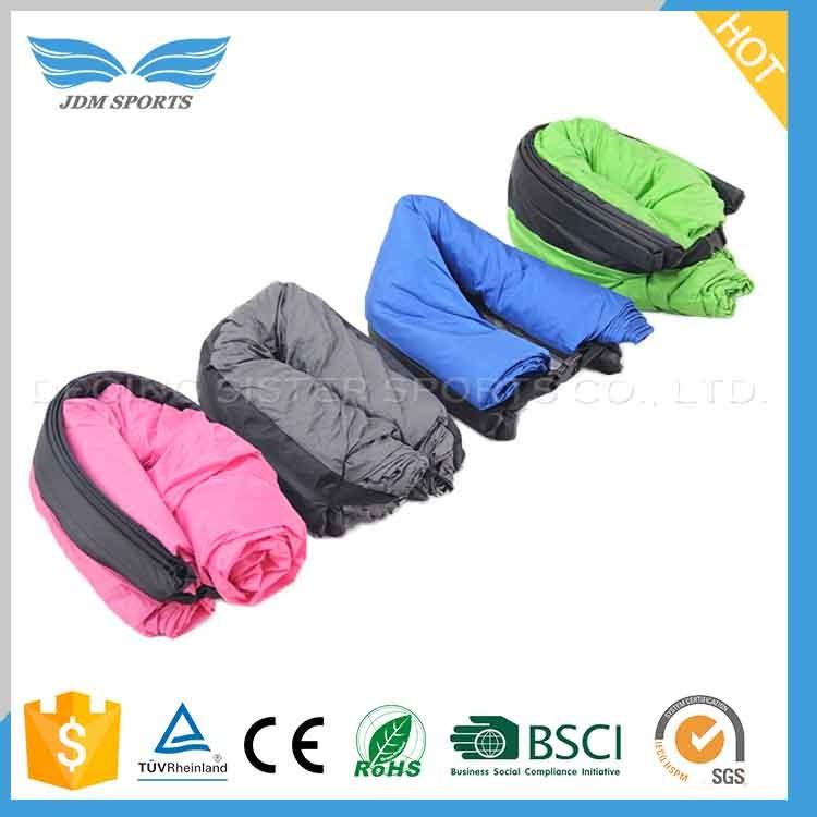 2016 Newest Good Reputation Air Filling Sleeping Bag Lazy Bag
