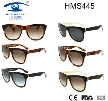 High Quality Acetate Sunglasses (HMS445)