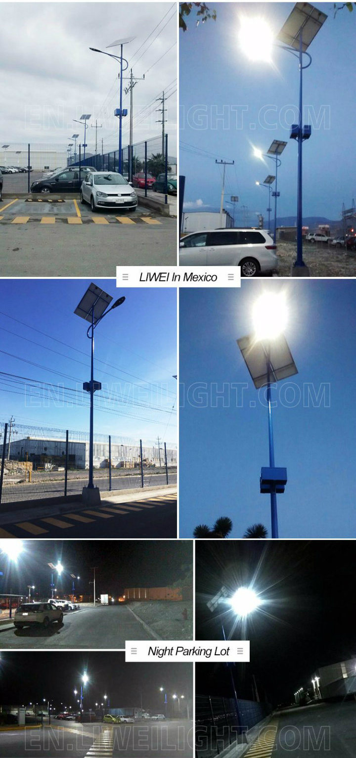60W 8m Auto-Sensing LED Street Lighting Pole Price