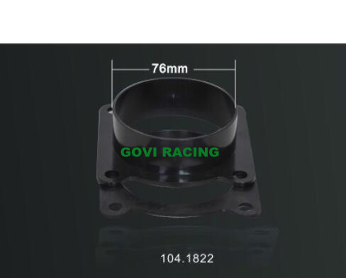 76mm Car Air Intake Adaptor CNC Machinery for Filter