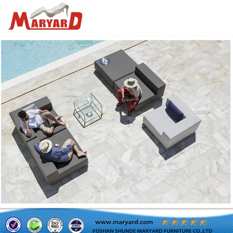 Modern Hotsale Garden Furniture Outdoor Furniture Fabric Sofa