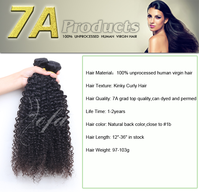 100% Natural Black Human Virgin Hair Extension