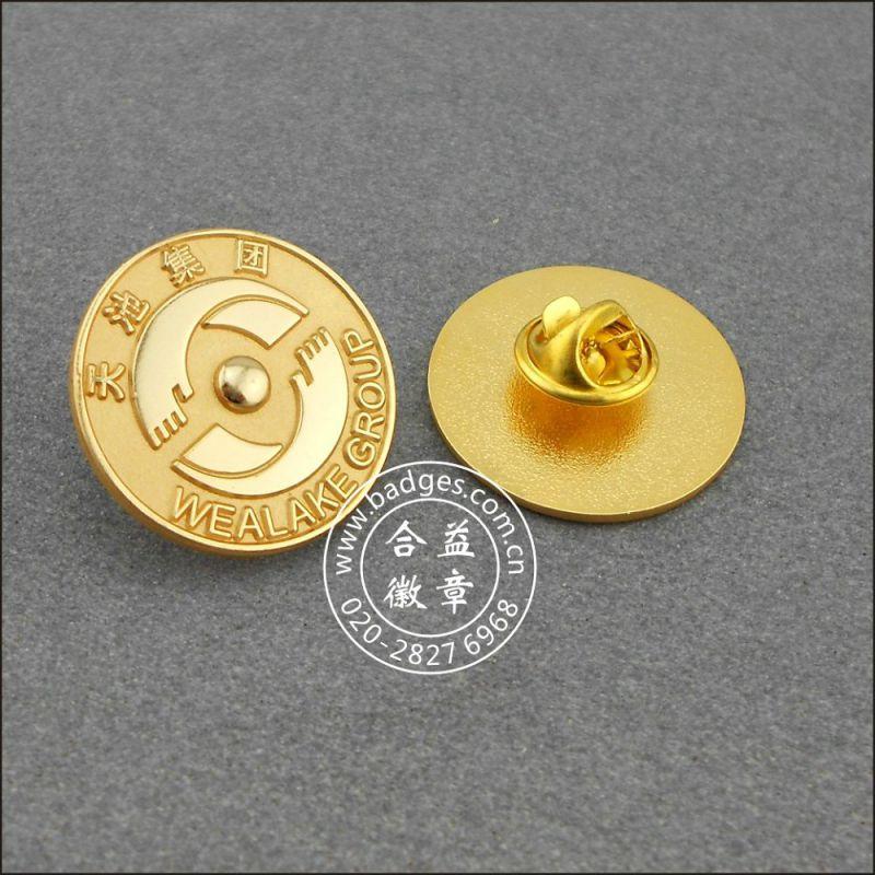 Enamel Lapel Pin, Gold Plated Badge (GZHY-LP-025)