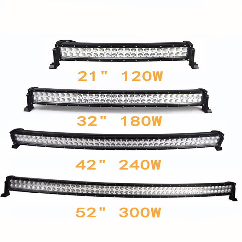 300W Curved Lighting Bar SUV LED Light Bar for Offroad