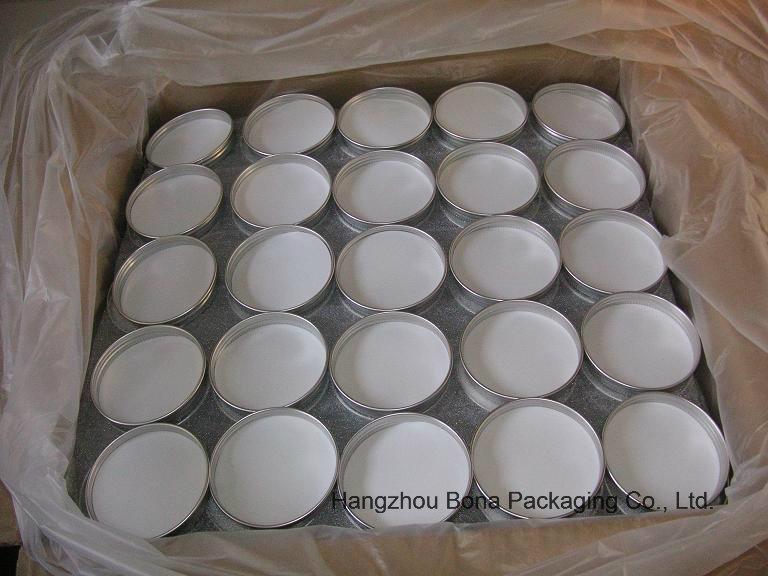 30g Aluminum Round Sliver Jar for Cream
