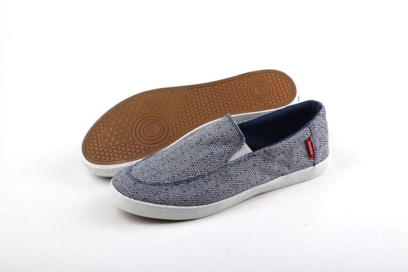 Men Shoes Leisure Comfort Men Canvas Shoes Snc-0215010