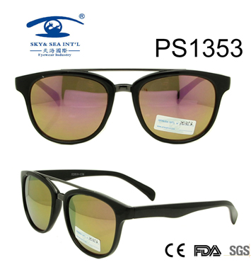 New Arrival Double Bridge PC Sunglasses (PS1353)