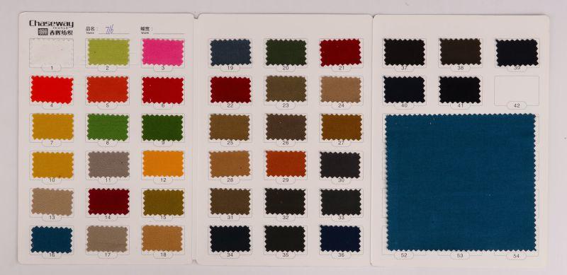 32s Thicken 100% Cotton Double Warp Twill Fabric