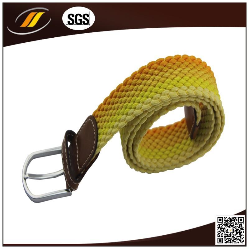 New Fashion Braided Elastic Rope Stretch Woven Belt