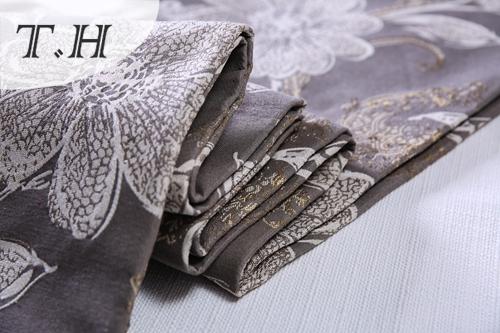 Floral Big Jacquard Fabric Design for Sofa and Furniture