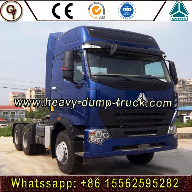 China 6X4 420HP 10wheels HOWO Heavy Duty Tractor Truck 6X4