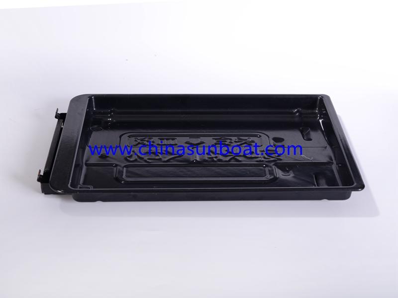 Enamel Black Bakeware with Single Handle