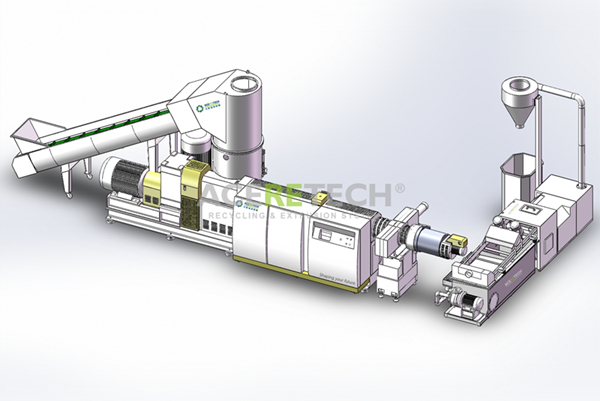 Efficient Plastic Compacting and Pelletizing System for PE/PP/PA/PVC/EPE/EPS
