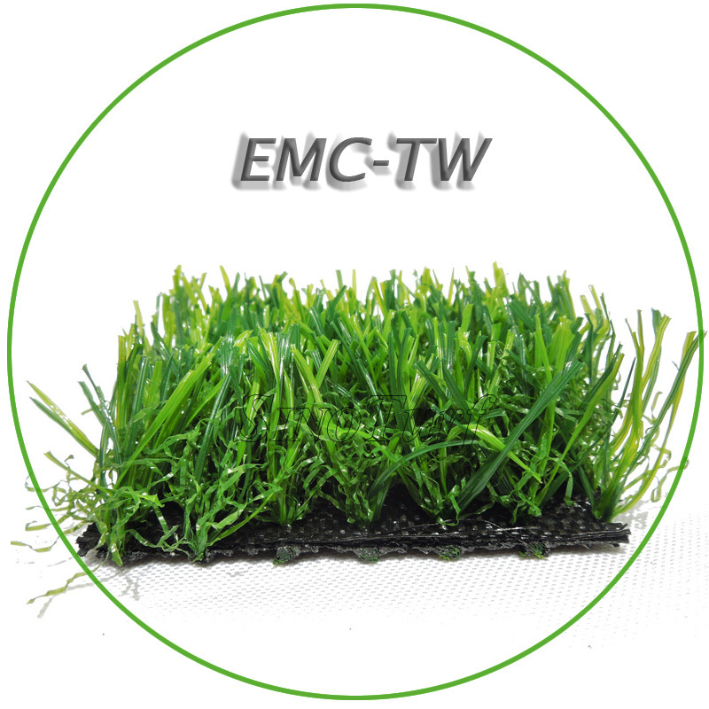 Low Price Safe Garden Landscape Artificial Grass Turf (EMC-TW) for Baby Home and Pet