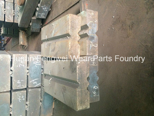 Crusher Spare Parts Blow Bar for Hazemag Haz791